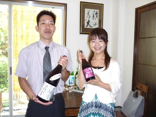 若波酒造さんご来店200807